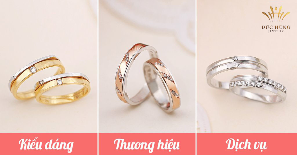 Mua nhẫn cưới đẹp cần lưu ý những điều gì?
