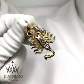 Dây chuyền vàng hình bọ cạp