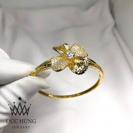 Vòng nữ bông hoa kim cương