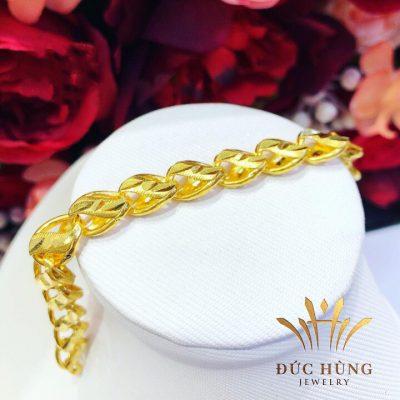 Lắc Vàng Nữ 24k đẹp quý phái