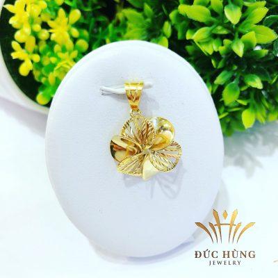 Mặt dây chuyền vàng nữ cánh hoa