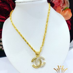 Dây chuyền vàng nữ Chanel