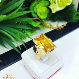 Nhẫn nam vàng thạch anh