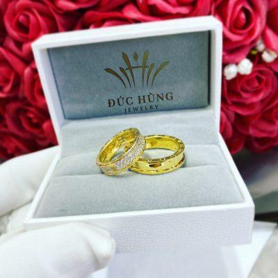 Cắp nhẫn cưới đẹp hoàn hảo