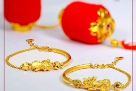 Hé lộ những mẫu lắc vàng nữ làm quà Tết 2020 tinh tế, ý nghĩa