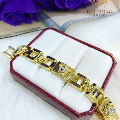 Lắc vàng nam 10k Versace